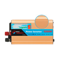 Freeshipping 자동차 인버터 24V 1200W 자동차 차량 USB DC 24V ~ AC 220V 전력 인버터 어댑터 자동차 변환기 24V 220 V CY810-CN