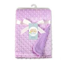 Guisantes de bebé manta del lecho de la manta del sofá para niños de espuma Mantas Las alfombras del saco de dormir infantil Mantas sólido blando toallas de baño Wrap LTZYQ506