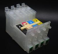 5 set / lote, modelo U T0601 T0602 T0603 T0604 Cartuchos de tinta CISS para impresora epson C88 C68 CX3800, etc. Piezas de DIY CISS
