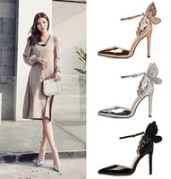 Sandals Women Pointed Clear Crystal Cup High Heel 11cm Stilettos Sexy Pumps Summer Shoes Peep Toe Women Pumps Size