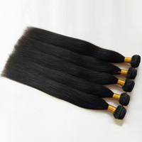 Mink vergini brasiliane dei capelli umani tesse serico signore 8-30inch preferiscono remy indiani trama dei capelli 10bundles a buon prezzo di fabbrica all'ingrosso