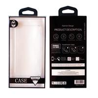 100pcs Universal Blister PVC boîte d'emballage boîte au détail logo personnalisé téléphone portable Package pour iPhone 6 6plus 7 7plus Téléphone Case