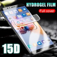 15D Full Cover Protective Hydrogel Film For Huawei Honor 7a ...