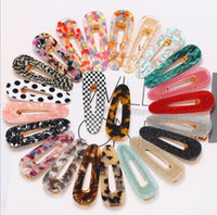 Wholesale Cheap Acetate Acrylic Hair Jewelry Barrettes Clips Accessories Women Ins Style Multi Styles Available Charms
