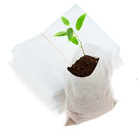 Plant Grow Bags 8*10cm Seedling Pots Biodegradable Non Woven...