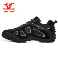 XIANG GUAN nuovo arrivo dei classici di stile uomini scarpe da trekking Lace Up Men Shoes Sport Outdoor Trekking Jogging scarpe da tennis trasporto libero veloce