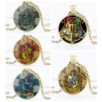 2019 Hot Badge Multicolor Time Stone Pendant Necklace Europe United States Popular Hot Sale Clavicle Chain Necklace Women Men Jewelry Gifts
