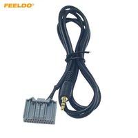 FEELDO Nouveau AUX-in audio voiture Adaptateur 24broches Changer connecteur de câble pour Honda CRV / Civic / Avancier / vezel / Crider / XR-V / Elysion fil # 6266