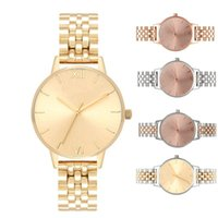 Women Fashion New Watches Stainless Steel Band Ultra thin Qu...