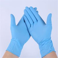 Newest Disposable gloves rubber high- density material pre- im...