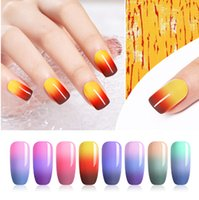 7. 5ml Thermal Nail Gel Polish 3 Colors Temperature Color Cha...