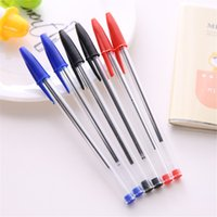 10pcs Rosso / blu / nero Inchiostro Penne a penna Kit Kawaii Cancelleria per bambini Regali Praize Office School Writing Penne Lapiceros Supplies