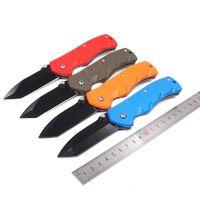 Мини Складной Охота Тактический Нож 440 Лезвие Пластиковая Ручка Открытый Ножи Выживания Туризм Отдых EDC Инструменты