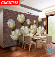 Decorate home 3D mural flower cartoon art wall sticker decor...