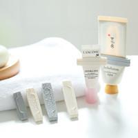 3 pçs / definir manual pasta de dentes espremedor pasta tubular dispensador espremer cosméticos limpador