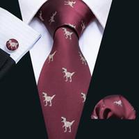 Быстрая доставка галстук набор Новый дизайн Новинка красный 8,5 см для мужчин-стязов дизайнеры мода повседневный галстук N-5060