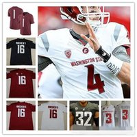 New Arrival. Custom Washington State Cougars College Football red white  gray Stitched Any Name Number  3 Tyler Hilinski 16 Gardner Minshew II WSU  Jerseys f368299f1