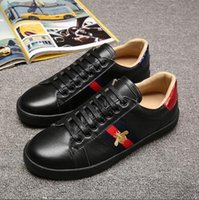 cd23e41e42c New fashion bee snake animal designs uomo e donna sneaker luxury brand  36-44 sneakers