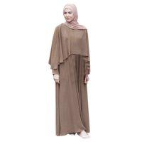 Abbigliamento etnico Vantage Bandage Dubai Ramadan Abiti Abiti Doppio strato Modal Donne Modal Donne Abiti Islamici Turco Robe Arabo Musulmane Panno