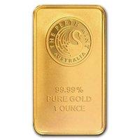 1 Unze Gold Bar Perth Mint Geprägt - Black Swan Gold überzogenes Bullion Bar No Magnetic 10pcs / lot geben Shippping