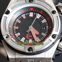 Üst versiyon 48mm 731 Kırmızı 11 55 ERKEK KOL Titanyum Vaka Kauçuk Kayış Spor Saatleri sonsuzluk izle dükkanı 1140 1400 Otomatik Mekanik Dial