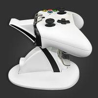 듀얼 컨트롤러 홀더 충전기 2 USB 핸들은 빠른 도킹 스테이션이 충전기 XBOX ONE S 게임 패드 스탠드 충전