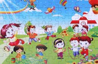 Cartoon Puzzle Toys Iron Box pacchetto fai da te Educational Jigsaw Puzzle per bambini Early Learning Montessori gioca il trasporto libero