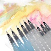 Портативный Краска Кисть Акварель кисти Карандаш мягкий Акварели кисть для начинающих Живопись Drawing Art Supplies