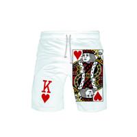 Мужские дизайнерские Шорты Брюки летние Марка Повседневная Мужчины Покер Короткие Pant Сыпучие мужские брюки люкс мужской одежды 2019 новых прибытия плюс размер XXS-6XL