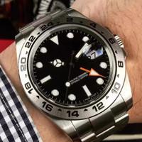 Erkek İzle Otomatik Hareket Paslanmaz Çelik Saatler Erkekler 2813 Mekanik Tasarımcı Erkekler Datejust Saatler Lüks saatı