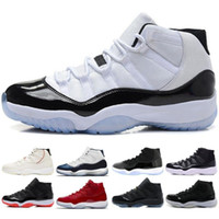 11 XI 11s Hat and Robe PRM Heiress Gym Red Chicago Platinum Tone Space Jam Scarpe da uomo