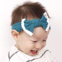 infantil cocar bebê populares jóias venda quente nylon faixa de cabelo borda do cabelo bola americano bola ornamento arco WY1362