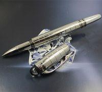 Promotion stylo de luxe noire résine rollerball stylo stylo plume stylos écriture de papeterie bureau de bureau de haute qualité