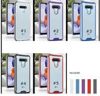 Absorção de ar Clear Crystal Cover Acrílico Casos Hard para LG K52 K53 Stylo 7 6 5 K22 K32 K92 K51 Aristo 5 Plus Harmony 4