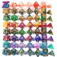 Drôle de jeu chaud DICE 7PCS Roll Decider Die Die Game Party Club Pub Pub Jouet Jouet Jeux de société RPG