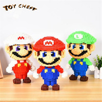TOY CHEST Brand Model Toys 28cm Super Mario Bros Mario And L...