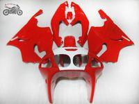 川崎忍者ZX7R 1996-2003 ZX-7R 96-03のための高品質の赤いフェアリングキット