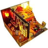 Cutebee بيت الدمية الأثاث مصغرة دمية DIY مصغرة غرفة البيت صندوق مسرح للعب الأطفال DIY دمية TD12 MX200414