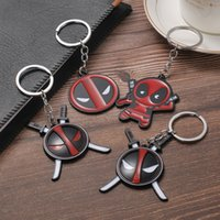 Hot Seal Deadpool Dead Keychain Alloy Plating Europa y América Joyas