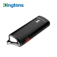 Kingtons Black Widow BLK Trockener Kräuterwachs Verdampfer-Kit 2200mah Vape-Akku 3 in 1 Kräuter-Kit mit Keramikheizung E-Cigs 100% Original