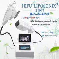 máquina HIFU Liposonic piel pérdida de peso belleza máquina de apriete herramientas de cuidado de la piel facial de elevación LipoSonix dispositivo de eliminación de grasa 3D HIFU