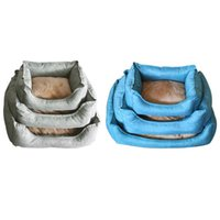 Foldable Pet Dog Cat Bed Warming Plush Cloth House Soft Pupp...