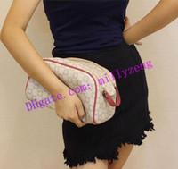 Moda Gerçek Deri Bayan Çanta KRAL BOYUTU TUVALET ÇANTA N47527 M47528 Kadınlar Zippy Debriyaj Çanta Yıkama Torbaları Kozmetik Çantaları