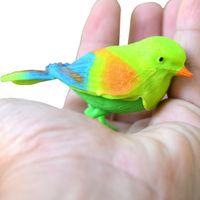 brinquedo pássaros sónico de detecção controlado por voz simulada Controle de som Pássaro chamará brinquedo o bebê controle de aves papagaio infantil.