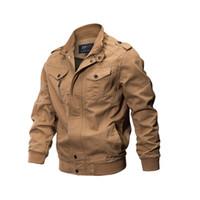 Homens jaqueta militar casaco de inverno jaqueta de algodão jaqueta de piloto dos homens do exército da força aérea outono ocasional carga jaqueta