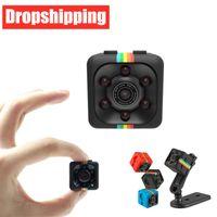 Dropshipping SQ11 Mini cámara Sensor Visión nocturna Videocámara Motion DVR Micro Camera Deporte DV Video Pequeña cámara Cam Sq 11