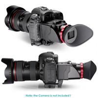 """Freeshipping S6 3X Optische Vergrößerung Faltbarer Sucher für LCD-Sucher für 3 """"-3.2"""" Canon Nikon Olympus DSLR-Kameras"""