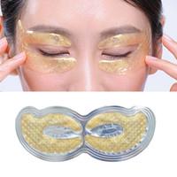 Efero 24K Золотой Кристалл Коллаген Глаз Маска Глазные Патчи для Глаза Уход Темные Круги Удалить Крем для глаз Антивозрастная Морщина Уход за кожей