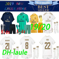 19 20 Real Madrid soccer jersey HAZARD KIDS kits with socks ...