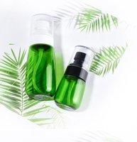 30ML 60ML flacone spray a forma di U atomizzatore Spray Bottiglie con spessore parete e spessa cosmetici fondo trasparente Bottiglie di imballaggio GGA3469-1